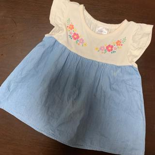 シマムラ(しまむら)のフタフタ✨切替チュニック(Tシャツ)