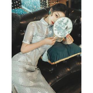 Lily Brown - 【新品未着用】チャイナ風ワンピース ドレス