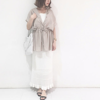 mystic - mystic サファリドラストシャツ