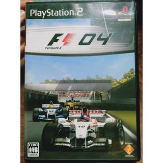 プレイステーション2(PlayStation2)のフォーミュラワン 2004 PS2(家庭用ゲームソフト)