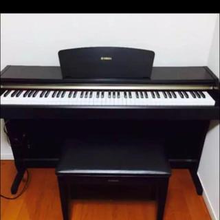 ヤマハ(ヤマハ)のYAMAHA 電子ピアノ ローズウッド調 美品(電子ピアノ)
