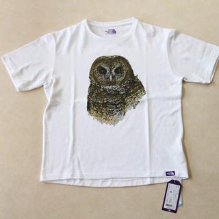 ザノースフェイス(THE NORTH FACE)の新品 ノースフェイスパープルレーベル プリントTシャツ(Tシャツ(半袖/袖なし))