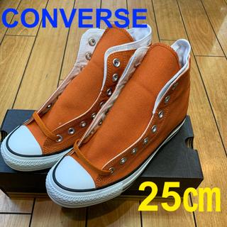 CONVERSE - ☆新品☆コンバース オールスター W ハイ オレンジ レディース  メンズ