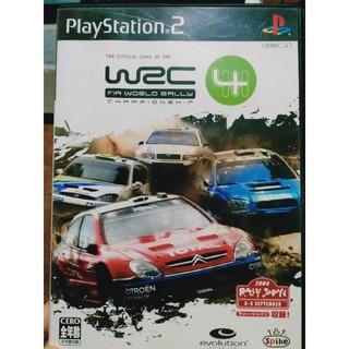 プレイステーション2(PlayStation2)のWRC4 PS2(家庭用ゲームソフト)