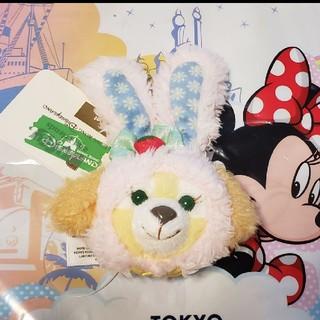 ダッフィー(ダッフィー)の★香港ディズニー★ クッキーアン  2019イースターフェイスマグネット(キャラクターグッズ)
