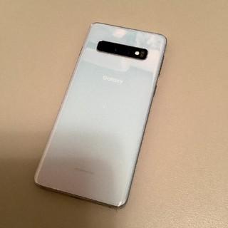 ギャラクシー(Galaxy)のGalaxy S10 プリズムホワイト(スマートフォン本体)