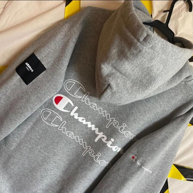 Champion(チャンピオン)のCHAMPIONxATMOSパーカー FR2  OY レジェンダ  lonely メンズのトップス(パーカー)の商品写真