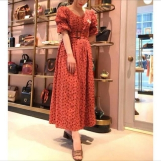 Lily Brown - 【新品】Lily brown♡カットワーク レース ワンピース