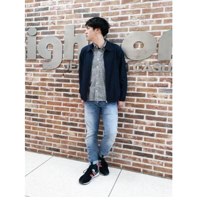 BACK NUMBER(バックナンバー)のBACK NUMBER フレンチリネンドリズラーシャツジャケット 2色セット メンズのジャケット/アウター(ブルゾン)の商品写真
