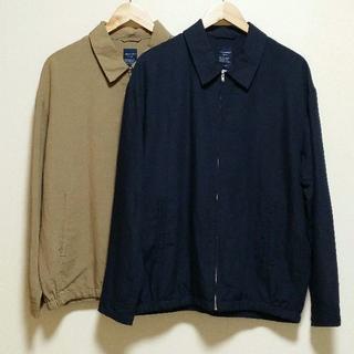 バックナンバー(BACK NUMBER)のBACK NUMBER フレンチリネンドリズラーシャツジャケット 2色セット(ブルゾン)