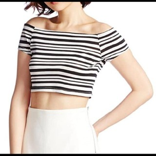 リゼクシー(RESEXXY)のRESEXXY リゼクシー ランダムボーダートップス(Tシャツ(半袖/袖なし))