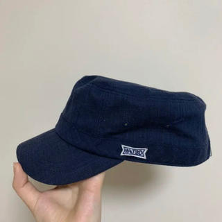 【美品】ワークキャップ キャスケット 帽子(キャスケット)