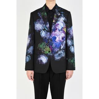 LAD MUSICIAN - lad musician 20ss 2B jacket 花柄 青