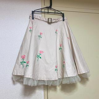 Swankiss - スワンキス スカート 花柄 チュールスカート