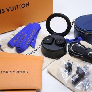 ルイヴィトン(LOUIS VUITTON)のLOUIS VUITTON ルイヴィトン イヤホン ホライゾン モノグラム 正規(ヘッドフォン/イヤフォン)