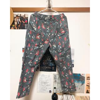 merlot - メルロー おじさん柄パンツ