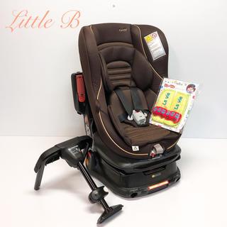combi - コンビ*限定デザイン*新品カバー付*新生児対応☆回転式チャイルドシート*ゴールド