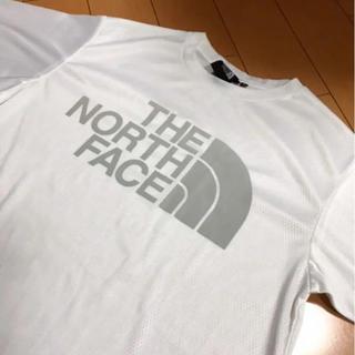 THE NORTH FACE - ザノースフェイスホワイトメッシュシャツ