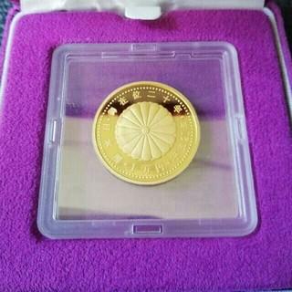 天皇陛下御在位二十年記念金貨幣 純金20g(貨幣)