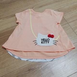 ハローキティ(ハローキティ)の【じぇしか様専用】キッズ ハローキティTシャツ(Tシャツ/カットソー)