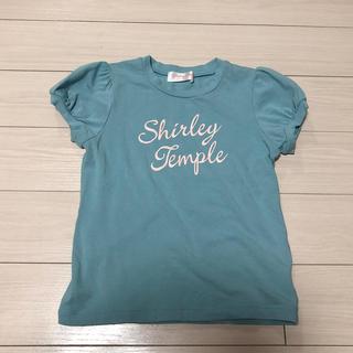 シャーリーテンプル(Shirley Temple)のシャーリーテンプル 水色Tシャツ 120㎝(Tシャツ/カットソー)
