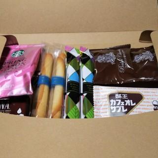 スターバックスコーヒー(Starbucks Coffee)のスタバとお菓子 b-13(コーヒー)