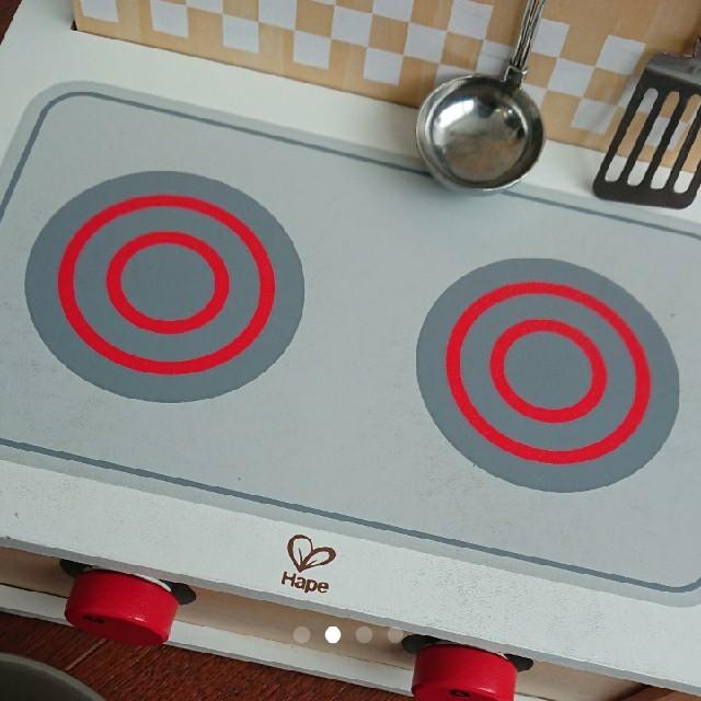BorneLund(ボーネルンド)のHape 木製キッチン キッズ/ベビー/マタニティのおもちゃ(知育玩具)の商品写真
