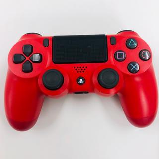 PlayStation4 - PS4 純正 コントローラー レッド