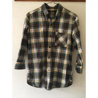 アメリカンラグシー(AMERICAN RAG CIE)のAMERICAN RAG CIE チェックシャツ 七分袖(シャツ)