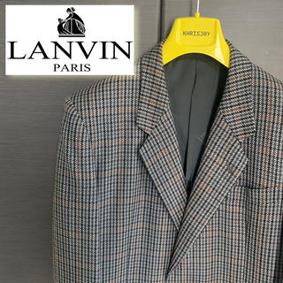 ランバン(LANVIN)の【希少】LANVIN ウール100%テーラードジャケット(テーラードジャケット)