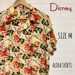 Disney - Disney ディズニー アウトバーン製 ミッキー アロハシャツ M