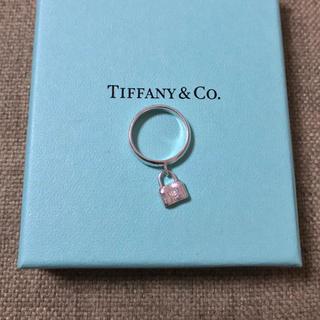 Tiffany & Co. - ティファニー カデナロックリング 南京錠 8号9号