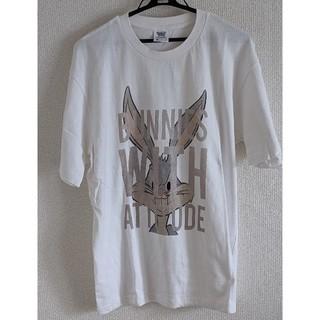 ジーユー(GU)のビッグTシャツ メンズ バックスバニー(Tシャツ/カットソー(半袖/袖なし))