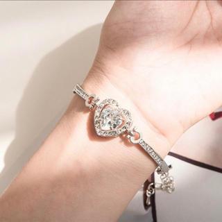 evelyn - heart bracelet