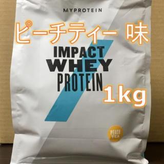 MYPROTEIN - マイプロテイン インパクトホエイ ピーチティー【1kg】