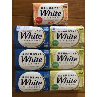 花王 - 花王 ホワイト White バスサイズ 固形石鹸 7個