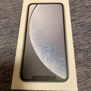 アイフォーン(iPhone)のiPhone XR 64G ホワイト SIMフリー(スマートフォン本体)