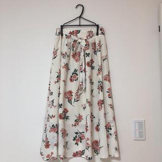 オリーブデオリーブ(OLIVEdesOLIVE)のオリーブデオリーブ  * 花柄 スカート(ロングスカート)