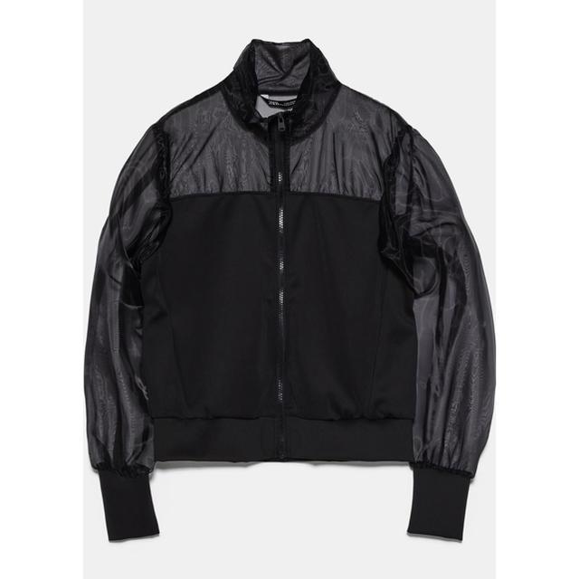ZARA(ザラ)のシースルージャケット レディースのジャケット/アウター(ノーカラージャケット)の商品写真