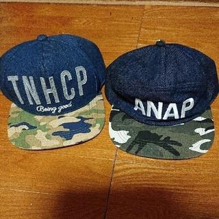 アナップキッズ(ANAP Kids)のANAP親子 お揃い風 キャップ(帽子)