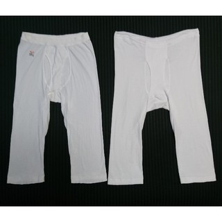 GUNZE - GUNZE YG & 片倉工業 ズボン下 Mサイズ 2点セット すててこ 股引き