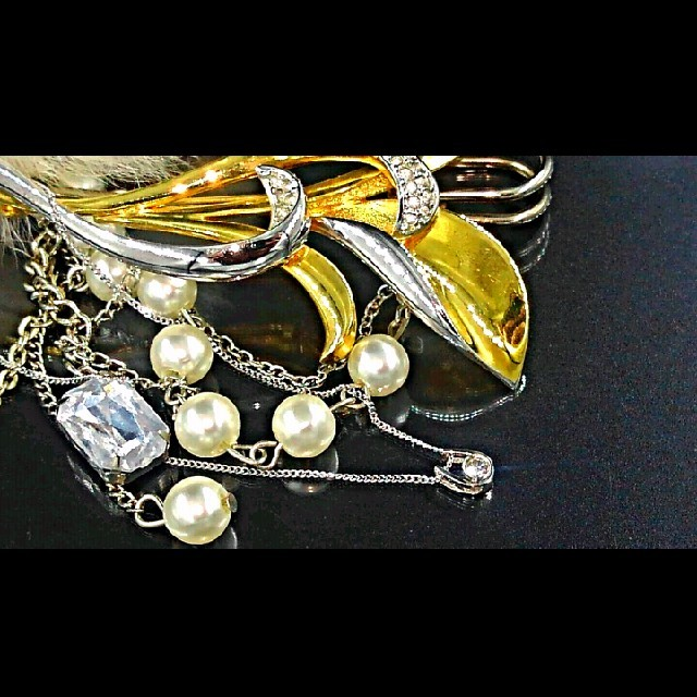 PEACH JOHN(ピーチジョン)のネックレス・ダイヤモンド・K14 レディースのアクセサリー(ネックレス)の商品写真