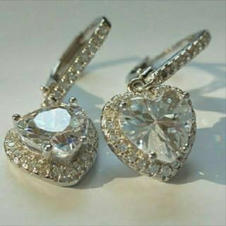 SWAROVSKI - f40🌸ナイアガラ🌸純銀製 ダイヤモンドキュービックジルコニア ピアス