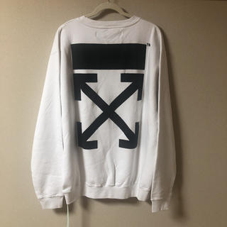 OFF-WHITE - 【新品】OFF WHITE SWEAT
