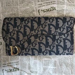 クリスチャンディオール(Christian Dior)のDiro長財布ネイビー(長財布)