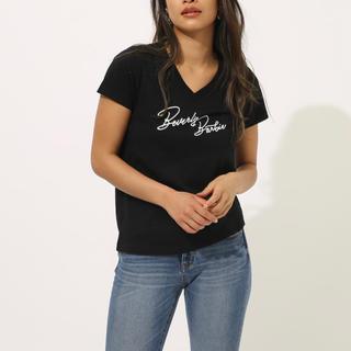 アズールバイマウジー(AZUL by moussy)のアズールバイマウジー★ロゴTシャツ/M(Tシャツ(半袖/袖なし))