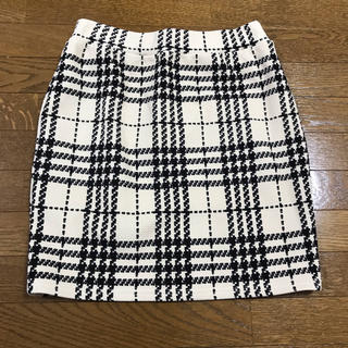 one*way - one way チェックのタイトスカート