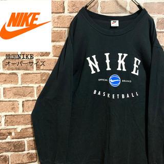 NIKE - 激レア【NIKE】オーバーサイズ ロンT 韓国ナイキ 銀タグ