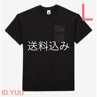 ナイキ(NIKE)の【L】NIKE TRAVIS SCOTT ナイキ トラヴィス ポケット Tシャツ(Tシャツ/カットソー(半袖/袖なし))