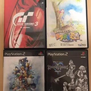 プレイステーション2(PlayStation2)のプレステ2 ソフト4本(家庭用ゲームソフト)